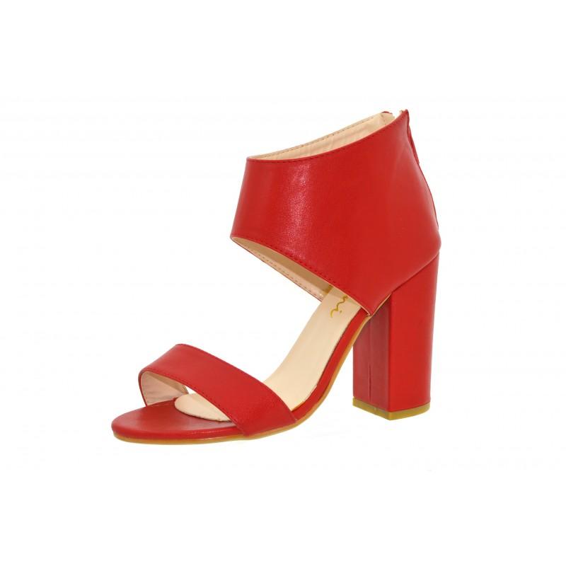 25e1d080953d1 ... Sandali donna spuntati scarpe estive aperte con tacco decoltè estate ...