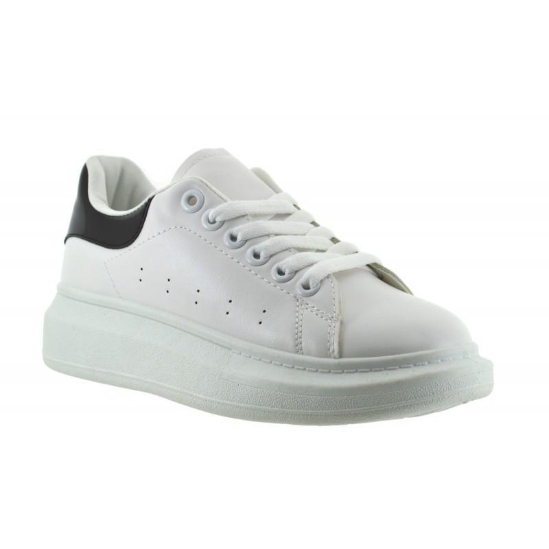 3f3ba7357c27a ... Scarpe da Ginnastica Donna Sneakers estive Eco Pelle Fitness Running  Sport mare ...