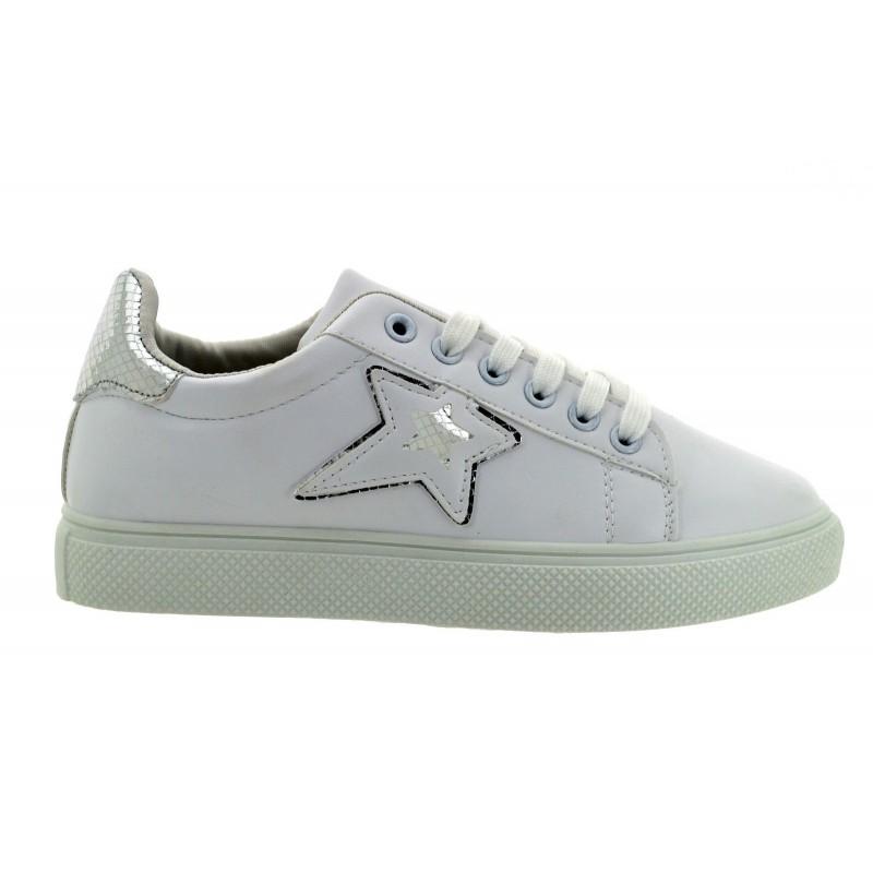 f316980628dc6 Scarpe Estive Sneakers Pelle Ginnastica Bianche Donna Eco qRAWFwBrR5