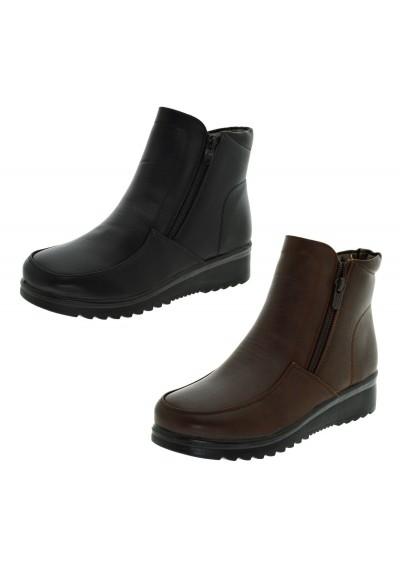 Tronchetti donna caldi Stivaletti bassi imbottiti scarpe donna invernali sneaker