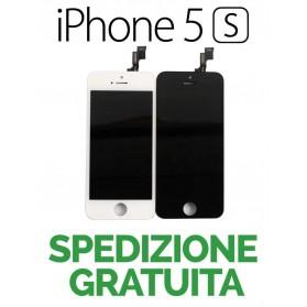 TOUCH SCREEN + LCD DISPLAY RETINA FRAME PER APPLE IPHONE 5S VETRO SCHERMO