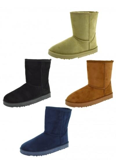 San Francisco 788a1 07ce7 Stivaletti donna caldi imbottiti scarpe stivali da neve scarponi invernali  boots