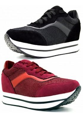 Sneakers rassodanti donna scarpe sportive tonificanti zeppa scarpe da ginnastica