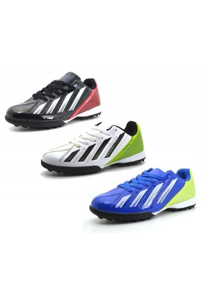 Scarpe unisex uomo donna sportive da calcetto scarpa da calcio tacchetti