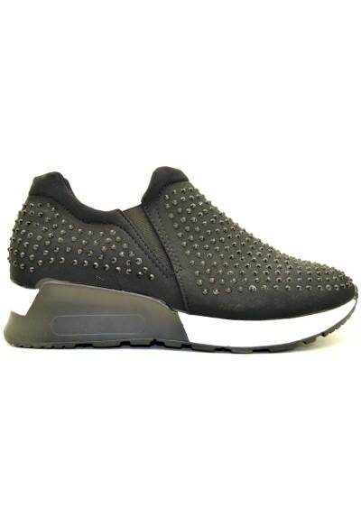 wholesale dealer 4db2d 9dfe3 scarpe donna sneakers sportive slip on strass tempo libero slippers glitter