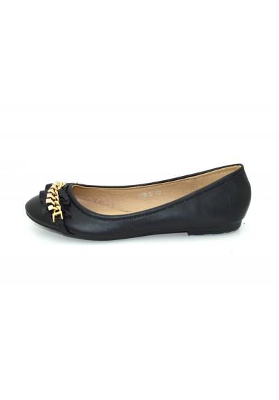 metà prezzo Più votati bella vista Scarpe basse donna ballerine a punta ballerina con catene e strass scarpa  bassa