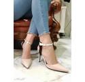 Decollte donna moda 2018 scarpe con le borchie tacco medio mary jane decoltè