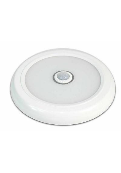 Plafoniera Da Soffitto Con Sensore Di Movimento Lampada 9w 6500k