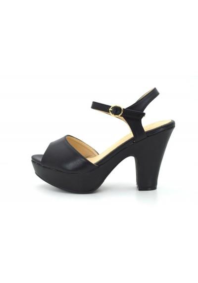 47c72a5cc81ad Scarpe donna sandali con tacco basso comodo e plateau decolte estive  decolletè