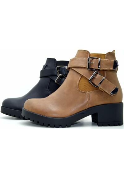 Tronchetto donna scarpe invernali donna chelsea boots stivaletti scarponcini