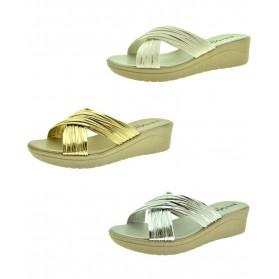 Sandali estivi donna ciabatte mare scarpe comode con zeppa da spiaggia