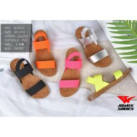 Sandali donna aperti estivi casual scarpe mare comode colorate ciabatte estate