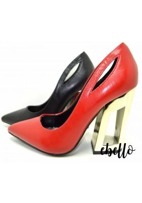 Decollete elegante scarpa modello mary jane scarpe da donna con tacco 10