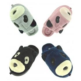 Ciabattine calde ciabatte aperte casa pantofole donna pattine babbucce Panda
