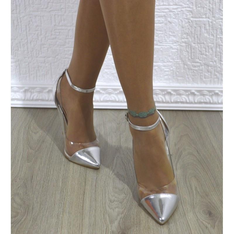 outlet pensieri su scarpe eleganti Scarpe eleganti decolletè donna decolte trasparenti tacco ...