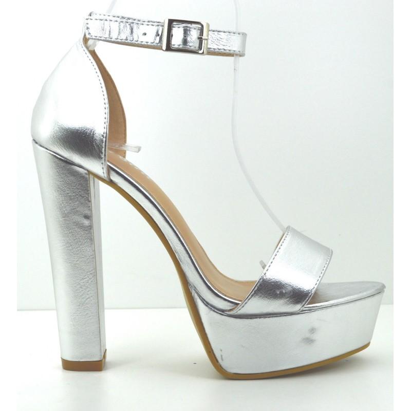 6425053d13039 ... Scarpe sandali donna con tacco alto e plateau decolte decolletè estive  ...
