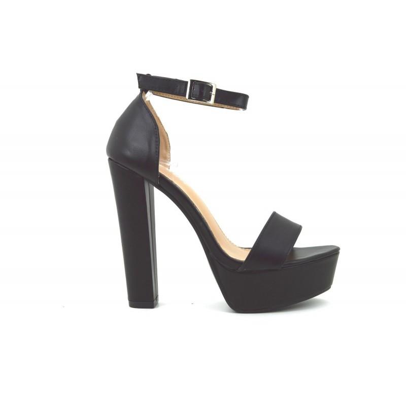 16de7e3f84d01 ... Scarpe sandali donna con tacco alto e plateau decolte decolletè estive
